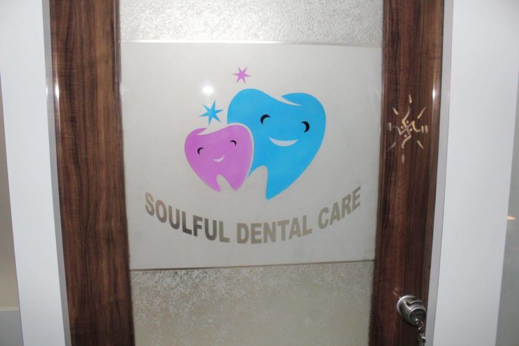 Soulful Dental care clinic Door